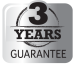3 Years Guarantee
